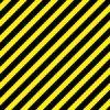 注意喚起を促すような黒と黄色の斜線パターン