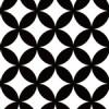 古来からある七宝文のパターン