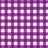 2重に重なる紫色のギンガムチェックパターン