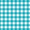 水色のギンガムチェックのシームレスパターン