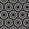 黒い円が重なりあうのパターン