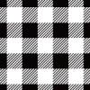 白黒の斜線が入っているシェパードチェックのパターン