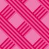 ピンク色の斜線が交差するパターン