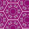 紫ベースのアラベスク風パターン
