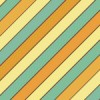 オレンジと水色のレトロな色味の斜線パターン