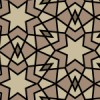 ブラウンベースのアラベスク柄パターン
