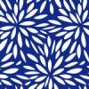 菊の花びらが無数に広がったような和柄パターン