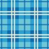 青ベースのタータンチェック柄パターン