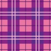 紫とピンクのタータンチェック柄パターン
