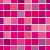 ピンク・紫ベースのモザイクタイル風パターン