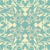 淡い色合いのヨーロッパ風壁紙パターン