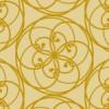 落ち着いた配色のフラワーモチーフパターン