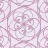 気品のある配色の花モチーフ柄パターン