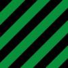 緑と黒の斜線パターン