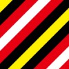 インパクトのある配色の斜線パターン背景素材