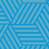 爽やかなブルーのバスケットチェック柄パターン