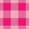ピンク色の可愛らしいシェパードチェックパターン