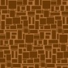 様々な大きさの茶色い四角がランダムに並ぶパターン