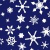 夜空に光る雪の結晶イラストテクスチャーパターン