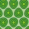 卵の様ないびつな丸が並ぶパターン