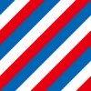 青・白・赤のトリコロールカラー斜線パターン