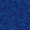 紺色の不気味な渦巻き柄パターン