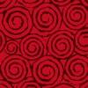 揺らめく不気味な赤い渦巻き柄パターン