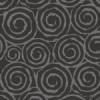 黒い渦巻きパターン