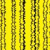黒と黄色のギザついたストライプパターン