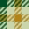 緑と茶色の渋いガンクラブチェック柄パターン