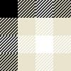 白黒のガンクラブチェックパターン