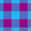 紫と青色のシェパードチェックパターン