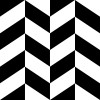 白黒のヘリンボーン柄パターン