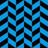 青と黒のヘリンボーン柄パターン