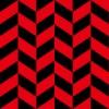 赤と黒のヘリンボーン柄パターン