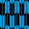 青と黒の矢絣柄パターン