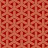 濃淡のある赤色の組亀甲柄パターン