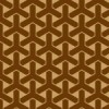 茶色の組亀甲柄パターン