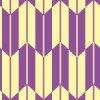 紫と薄い黄色の矢絣柄パターン