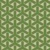緑色の組亀甲柄パターン