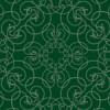 蔦が絡みあったような緑色のアラベスク柄パターン