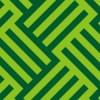緑色のバスケット柄パターン