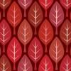 赤い葉っぱのイラストが並ぶパターン