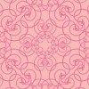 ピンク色のアラベスク柄洋風パターン