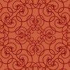 ヨーロッパ的な赤いアラベスク柄パターン