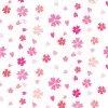 桜舞い散ようなイラストパターン