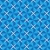 風車のような青色のチェックパターン