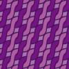 紫色のアラン模様パターン