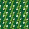 緑色のアラン模様パターン