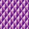立体的に見える紫色の菱形パターン